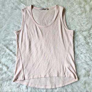 Athleta Pink Knit Tank